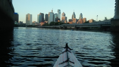 Philadelphia by boat, August 2016.
